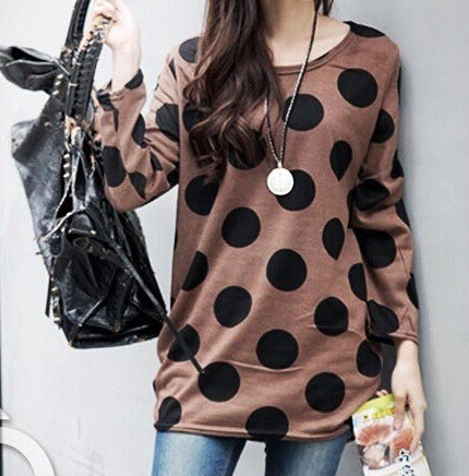 Cute polkadot tunic top · doublelw · online store powered by storenvy