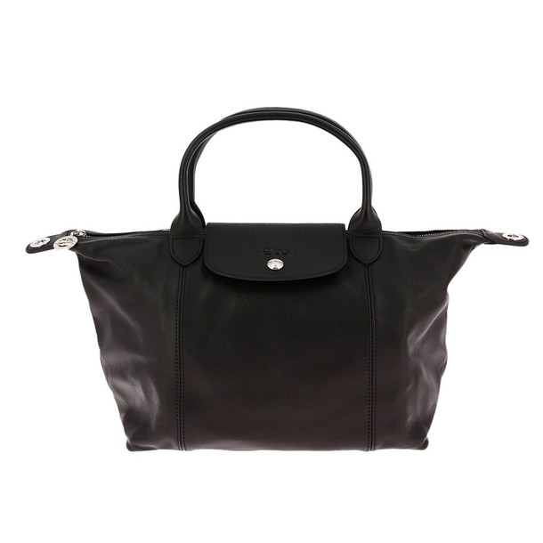Longchamp women bag handbag shoulder bag black