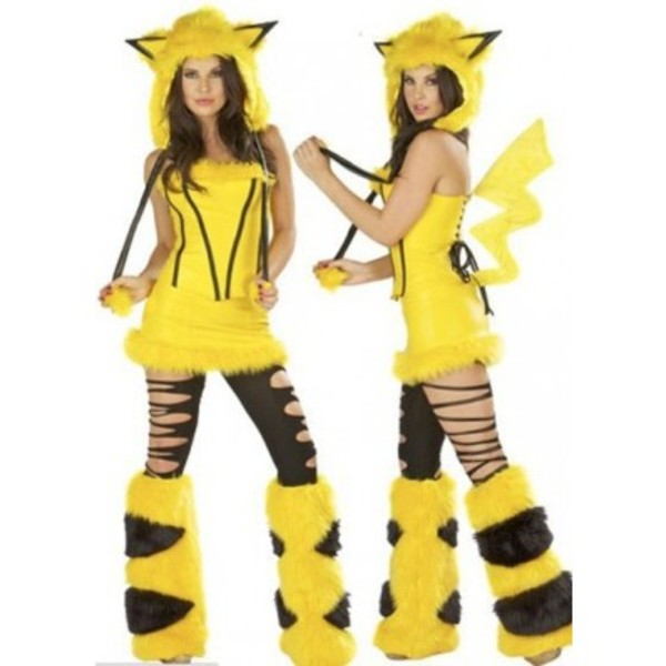 dress pikachu halloween costume cosplay