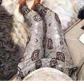 pants,metallic,silver,gold,fashion,sparkle,diamonds,luxury