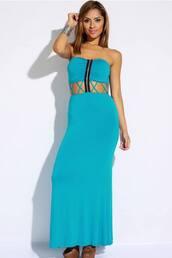 dress,blue,love,summer,clothes,zip,cali,houston,dallas,miami,la,dime line,dime line cothing,maxi dress