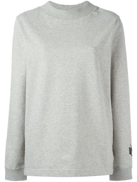 Nike Nikelab Essentials fleece mock neck sweatshirt, Women's, Size ...