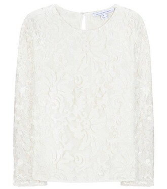 top embellished top embellished white