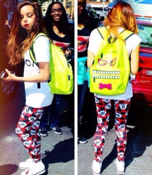 mickey mouse pants jade thirlwall little mix
