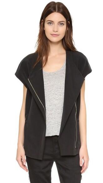 jacket short black