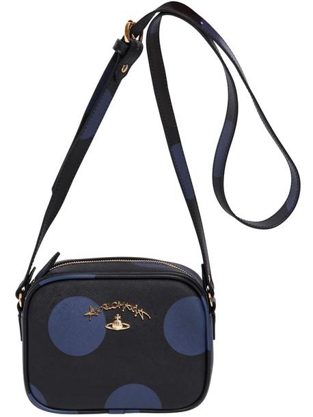 Vivienne Westwood bag shoulder bag print black purple