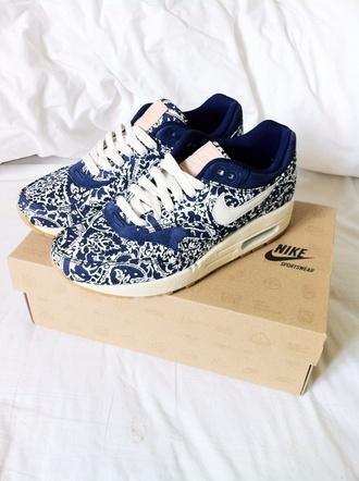 shoes nike air max nike air max 1 liberty nike x liberty