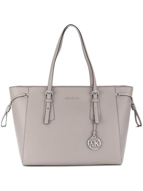 MICHAEL Michael Kors women leather grey bag