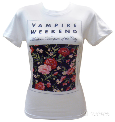 Juniors: Vampire Weekend - Floral Vêtements sur AllPosters.fr