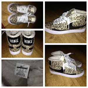 Nike leopard print blazers uk 5.5