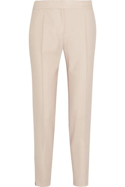 pants wool pastel pink pastel pink