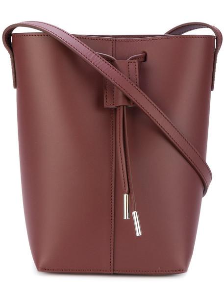 PB women bag shoulder bag leather red