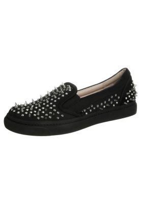 Jeffrey Campbell ALVA - Slip-ons - black - Zalando.co.uk