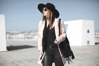 room91 blogger jacket shoes bag hat belt