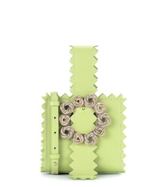 Jacquemus bag shoulder bag leather green