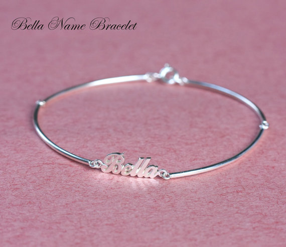 Handcrafted Personalized Name Bracelet Baby Name by Bestyle