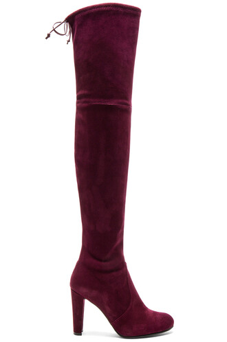 boot burgundy shoes