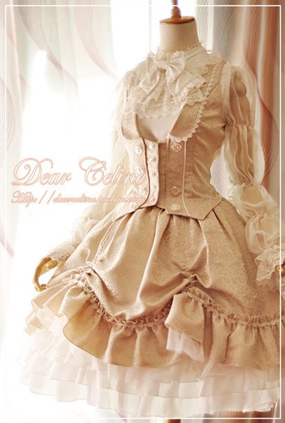 dress dear celine lolita