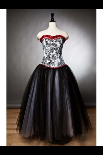 dress prom dress punk gothic dress prom
