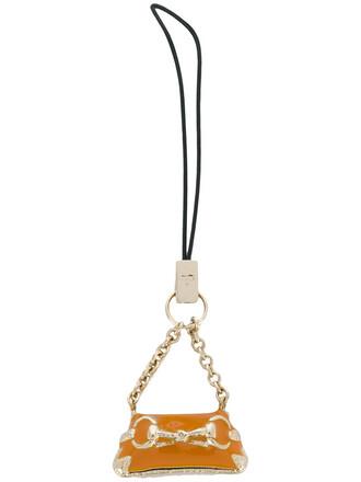 mini metal women bag mini bag yellow orange