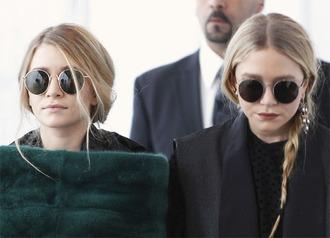 sunglasses olsen sisters round sunglasses olsen sisters