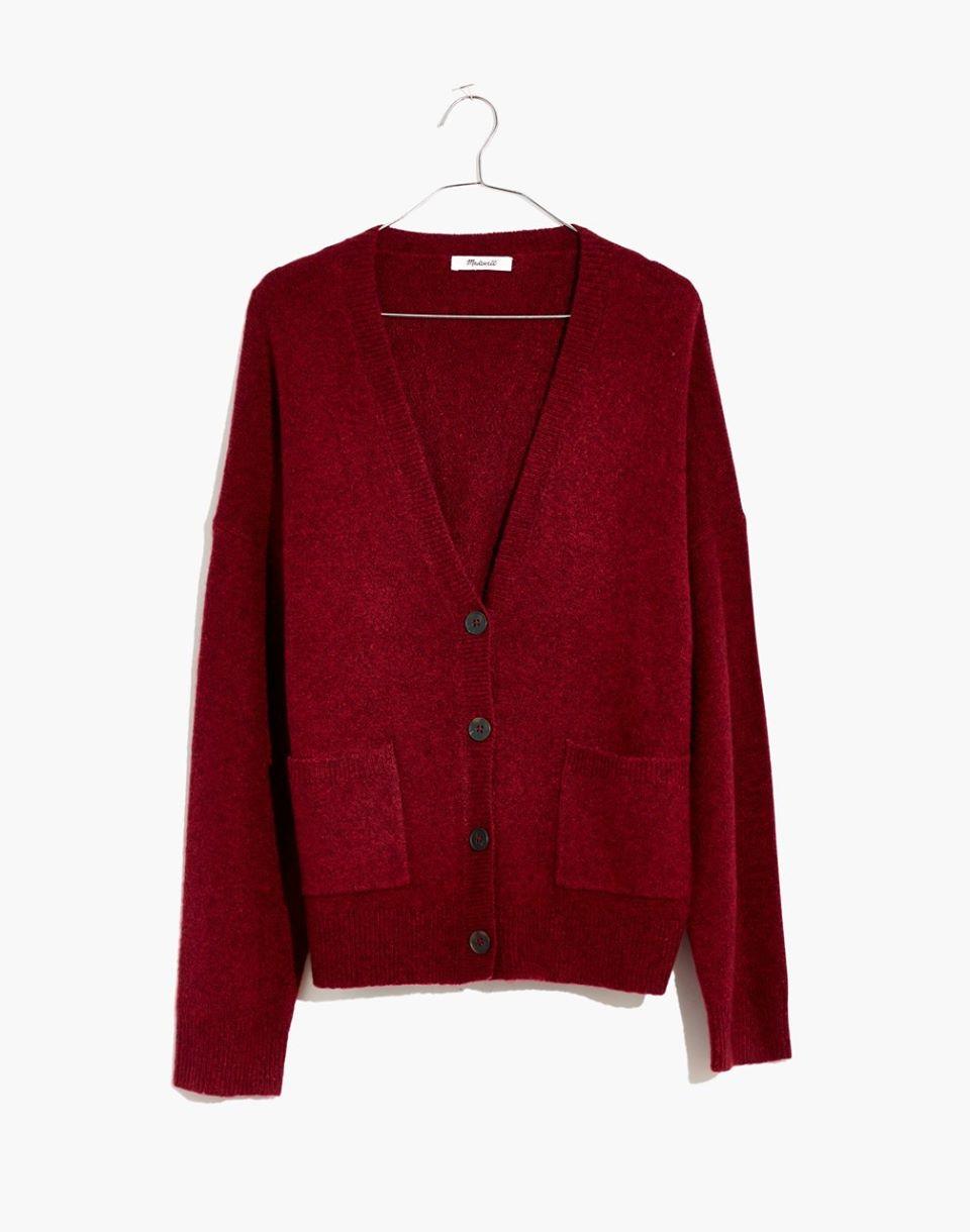 Women's Short Kent Ex-Boyfriend Cardigan Sweater