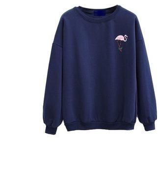 sweater blue sweatshirt