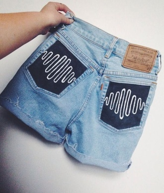 arctic monkeys jeans denim denim shorts shorts short summer levi's
