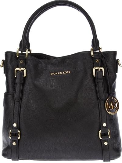 bdb9785517a2e7 Michael Michael Kors Logo Shoulder Bag - Etre - Vestire - farfetch.com