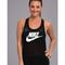 Nike three-d tank black/white - zappos.com free shipping both ways
