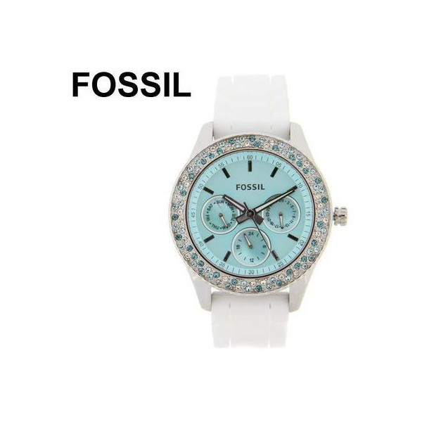 jewels fossil watch aqua