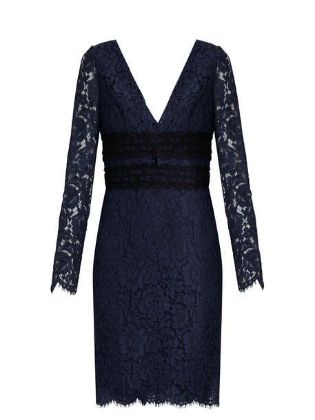 Diane Von Furstenberg dress navy