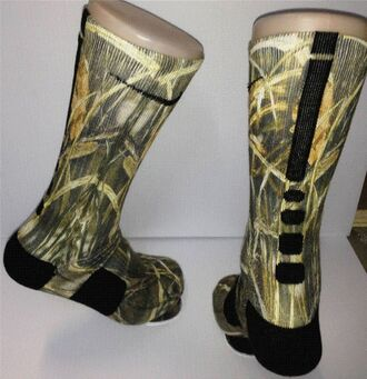 socks camouflage nike elite