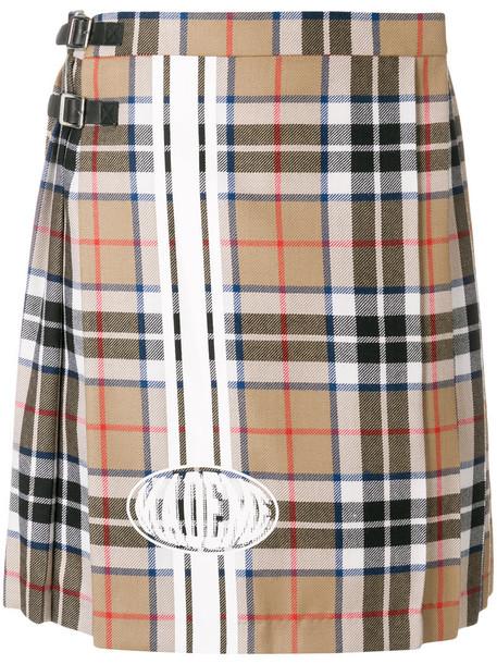 MadeMe skirt pleated skirt pleated women nude wool