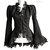 Vest victorian, Size M, black victorian, steampunk vest, Halloween, goth, Somnia Romantica by Marjolein Turin