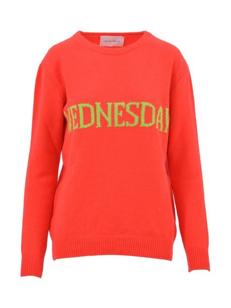 Alberta Ferretti sweater orange