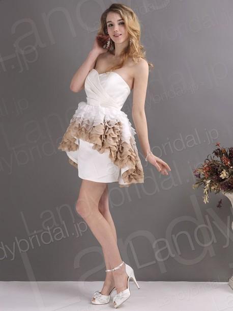 dress ウェディングドレス ミニドレス スレンター