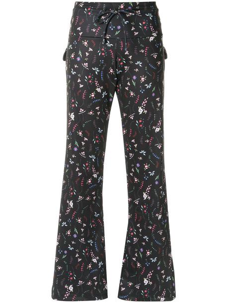 Olympiah women spandex black pants
