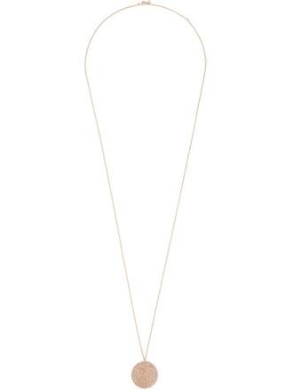 necklace pendant purple pink jewels