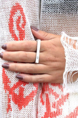 sirenlondon — Silver Bar Ring