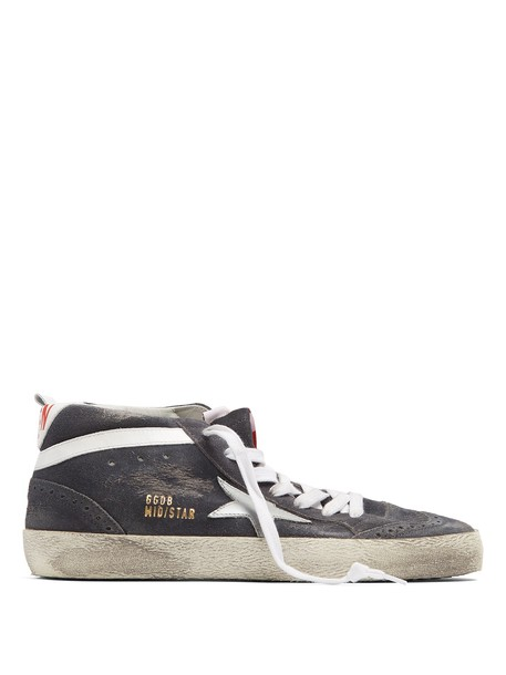 GOLDEN GOOSE DELUXE BRAND top suede grey