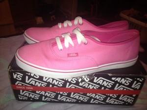 Pink Womens Van Trainers | eBay