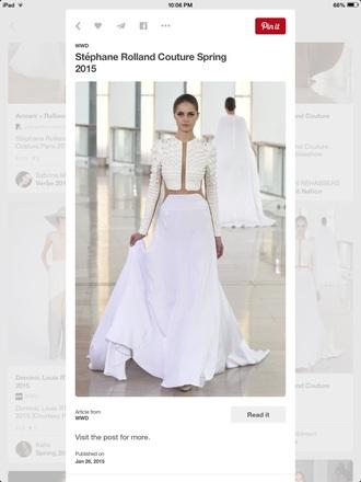 skirt shirt all white everything