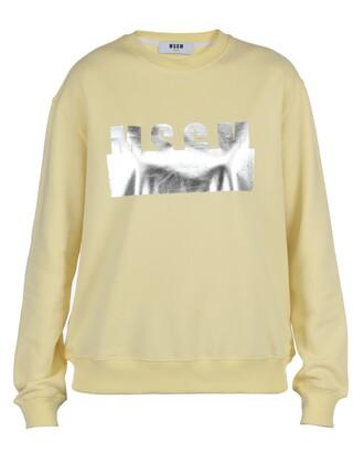 sweatshirt cotton yellow sweater