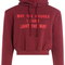 Vetements - printed cotton hoody with structured shoulders