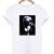 karl lagerfeld black and white T Shirt