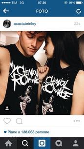 my chemical romance,acacia brinley,muscle tee
