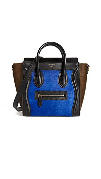 What Goes Around Comes Around cross bag blue black