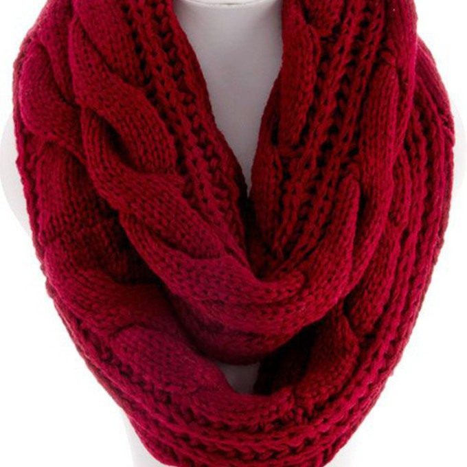 scarf fall outfits ootd winter fashion cozy scarf marron scarf wool divergence clothing online store cute online store boutique scarf red
