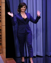 jacket,tonight show with jimmy fallon,demi lovato,pants,shoes